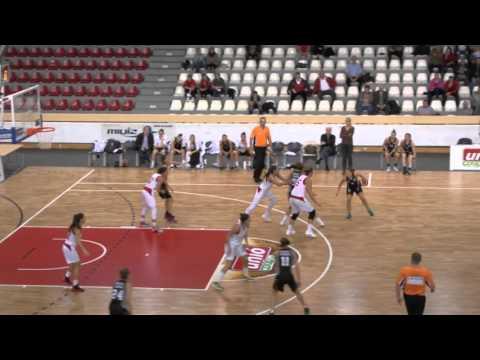 Női kosárlabda NB I. A-csoport 3. forduló. Aluinvent DVTK - ELTE-BEAC Újbuda