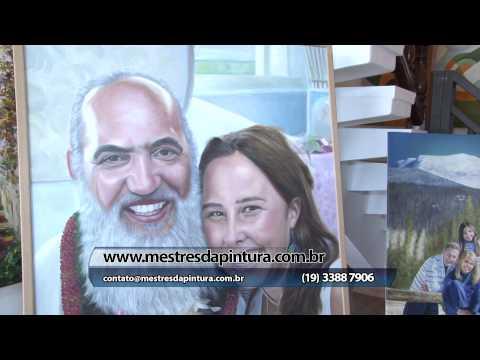 Encomende sua foto pintada em óleo sobre tela