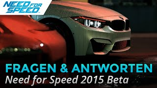 Need for Speed 2015 Beta - Fragen und Antworten!, Need for Speed, video game