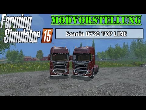 Scania R730 TOP LINE v2.0