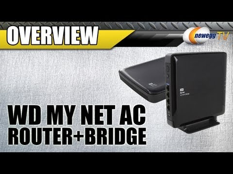 Newegg TV: Western Digital My Net AC Wireless Router + Bridge Overview