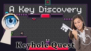 Matching giant keyholes with giant keys in 2D puzzle platformer A Key Discovery.To download A Key Discovery (for Windows) check out itch.io - https://nanolotl.itch.io/a-key-discoveryTo keep up to date with ALL the Cryptic Hybrid things check out: - TWITTER: https://twitter.com/CrypticHybrid  - MINDS: https://www.minds.com/CrypticHybrid  - FACEBOOK: https://www.facebook.com/cryptichybrid/ PS Also don't forget to SUBSCRIBE - www.youtube.com/cryptichybrid