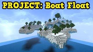 Minecraft Aquatic Update - Blue Ice + Boats = Insanity
