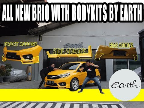 Bodykits On Modifikasi Honda Brio By Earth #carvlog