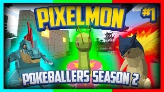 Pixelmon Server Pokeballers Adventure Season 2 Episode 1 - 2nd Region Now Open!