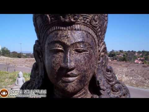 Stone Devi Tara Garden Statue 45