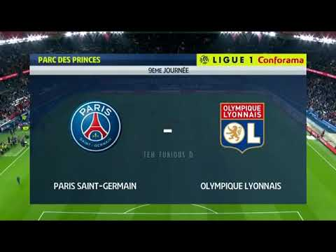 PSG vs Lyon 5-0 All Goals and EXT Highlights w/English Commentary (Ligue 1) 2018-19 HD 720p
