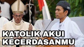 Video Mantaaaab.. Ahirnya Orang Katolik Akui Kecerdasan Ust Abdul Somad MP3, 3GP, MP4, WEBM, AVI, FLV September 2019