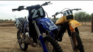 7. 1981 Yamaha YZ 125 VS 1998 Yamaha YZ 125 Motocross Shootout Review
