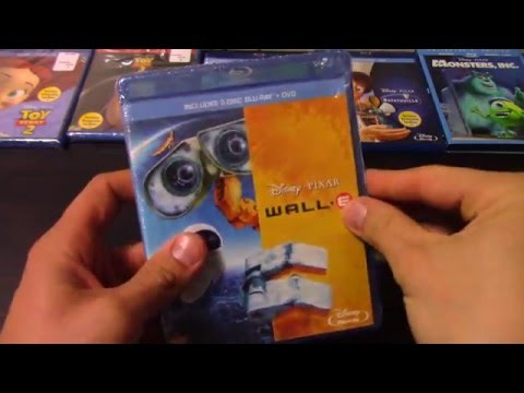 Disney's Pixar Wall-E On Blu Ray And DVD