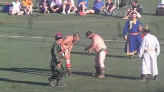 Финал Абсолютное первенство!! Монгол весом 130 кг!!! Алтаргана 2016.