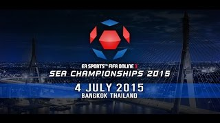 SEA Championship 2015 - Thailand, Day 2, fifa online 3, fo3, video fifa online 3