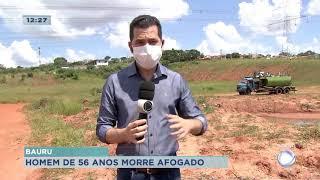 Bauru : homem morre afogado na Quinta da Bela Olinda