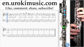 http://en.urokimusic.com/ How to Play Oboe Silent Night Tabs Part # 2 um-b352 Please write in the comments, how to make lessons more useful to you?