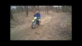 5. Nice Honda XR250L & Kawasaki KLX300R street legal dual sport motorcycles