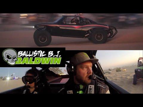 Monster Energy Ballistic Bj Baldwin Exclusive Ride Along in Glamis, California