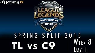 LCS NA Spring 2015 - W8D1 - TL vs C9