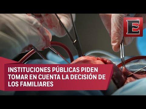 Sector Salud de México rechaza donación automática de órganos