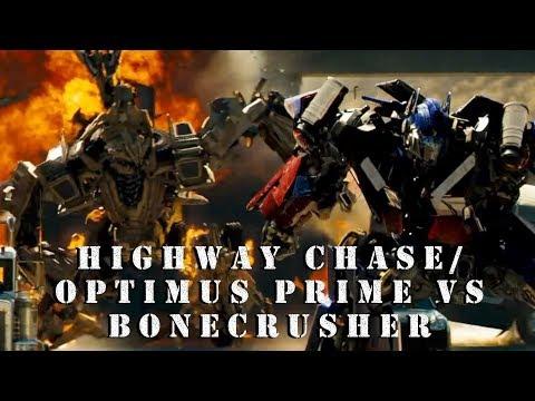 Scoring Practice - Highway Chase/Optimus Prime vs. Bonecrusher (Transformers, 2007)