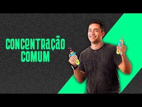 Concentração Comum: PASSO A PASSO.