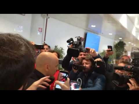 Palermo, l'arrivo di Eugenio Corini