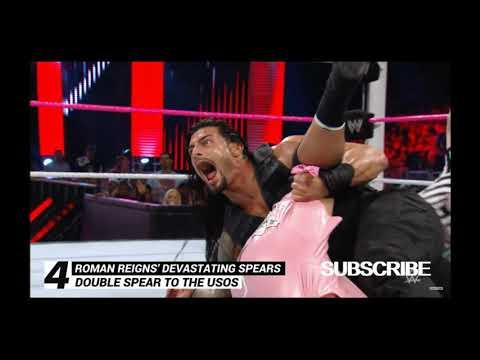 WWE Top 10, Oct. 14, 2020 : Roman Reigns' most devastating Spears
