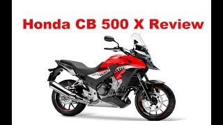 4. The Best Lightweight Touring Motorcycles. Honda CB 500 X - 2018 - Test Ride & Review