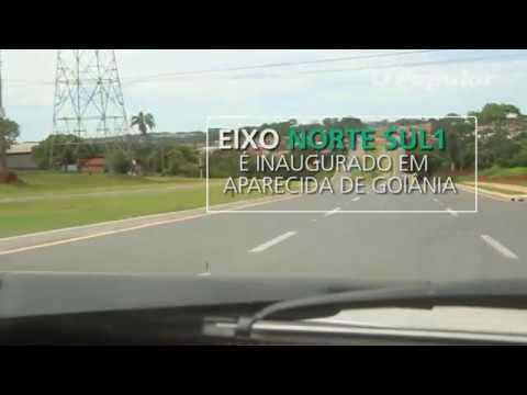 Eixo Norte Sul 1 é inaugurado em Aparecida de Goiânia