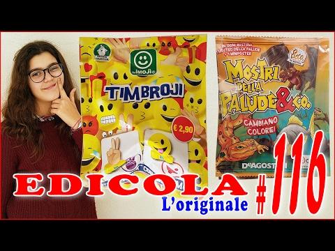 EDICOLA #116: TIMBROJI & MOSTRI DELLA PALUDE&Co (by Giulia Guerra) (видео)