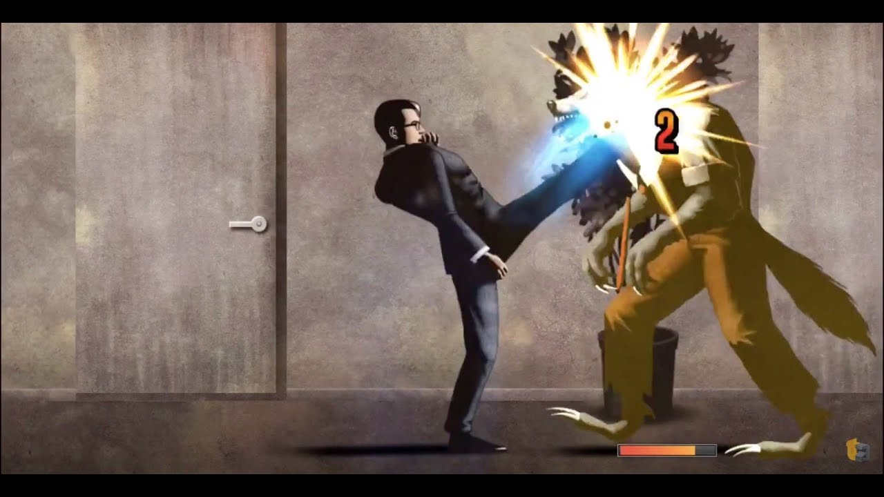 Hands-On with 'The Executive' - Flame-Kicking Werewolves Like it Ain't No Thang