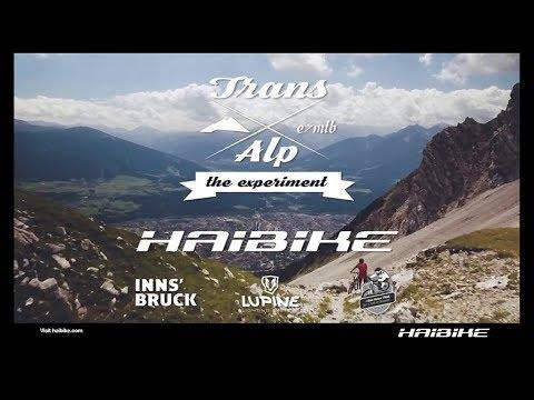 E-Mountainbike Trans Alp   The Experiment (Trailer)