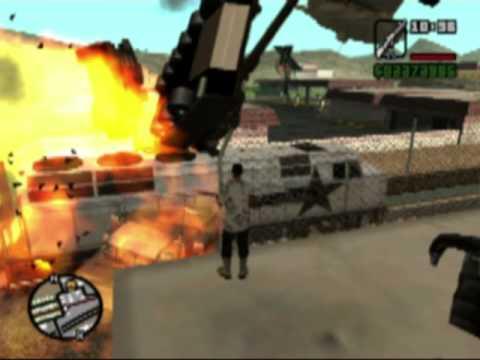 GTA San Andreas - Unstoppable Train