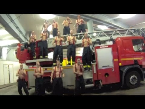 French Firefighters Reprimanded for Shirtless 'Call Me Maybe' Video