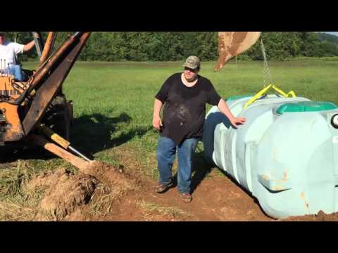 Well pump, Pressure tank, and Septic system