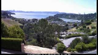 Mother's Day San Francisco Bay Time Lapse from Tiburon
