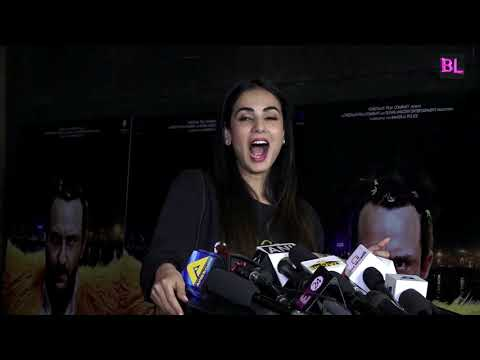 Sonal Chauhan At Special Screening Of Film Kaalakaandi