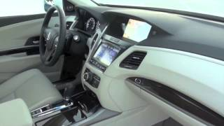 2014 Acura RLX, All-new Technology-rich 4-door Sedan