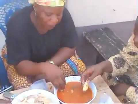 Papa Sango Wives on strike refused to give him Food...