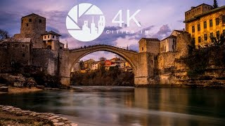 Mostar Bosnia  City pictures : Mostar in 4K