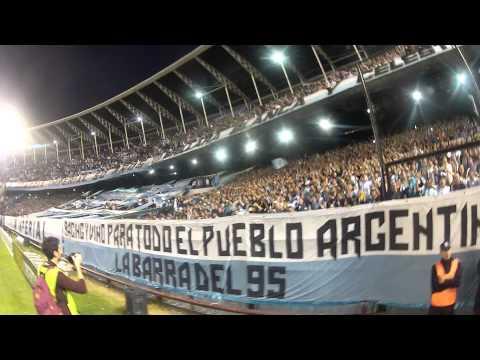 Video - La hinchada de Racing desde el campo - La Guardia Imperial - Racing Club - Argentina