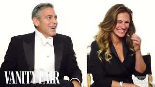 Video George Clooney and Julia Roberts First Met in a Hotel | Vanity Fair MP3, 3GP, MP4, WEBM, AVI, FLV September 2018