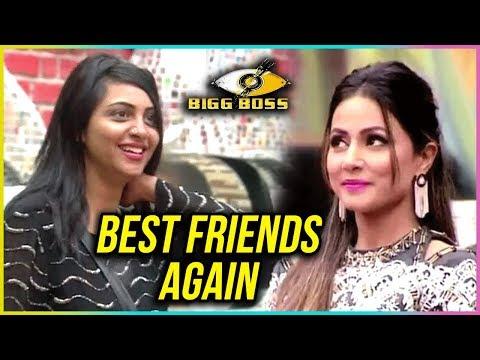 Hina Khan And Arshi Khan BEST FRIENDS AGAIN? |