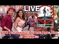 Tiger Shroff And Nidhhi Agerwal LIVE Performance On Ding Dang Song at BEST Bus | Munna Michael 2017