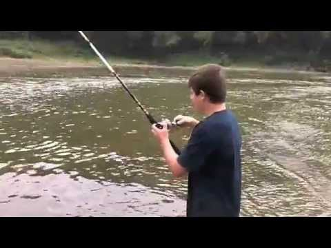 From river fishing to pond fishing