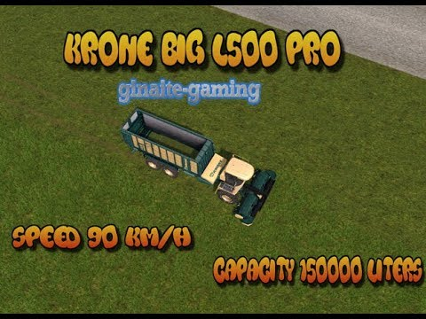 KRONE BIG L500 PRO v1.0