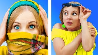 Video FUNNY WEATHER FAILS || Relatable facts by 5-Minute FUN MP3, 3GP, MP4, WEBM, AVI, FLV September 2019