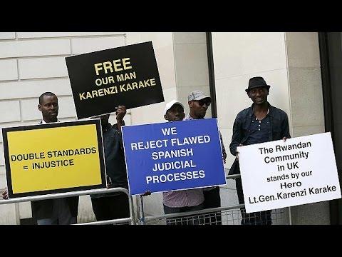 Ελεύθερος με περιοριστικούς όρους ο πρώην επικεφαλής της υπηρεσίας πληροφοριών της Ρουάντα