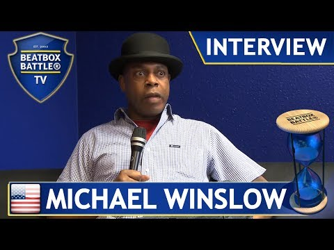 Michael Winslow from USA - Interview - Beatbox Battle TV