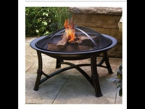 Better Homes and Gardens Fire Pot unbox and assembly.