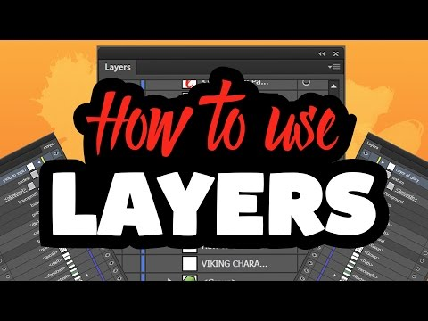 How To Use Layers In Adobe Illustrator CC